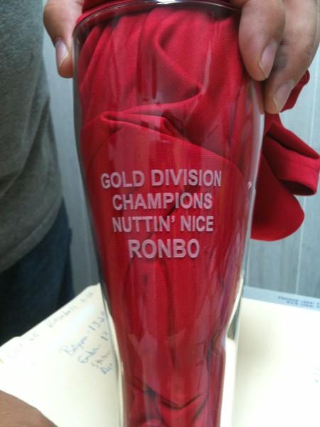 Season 1 Championship Nutt\'N\'Nice Pilsner Glass